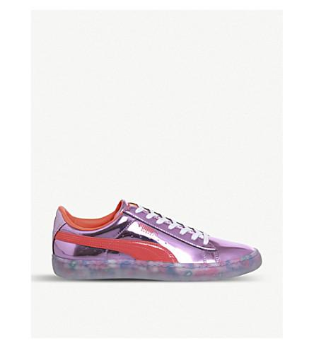 ... PUMA Puma x Sophia Webster Basket Candy Princess metallic sneakers ( Metallic+pink+firey. PreviousNext 793d48ee0