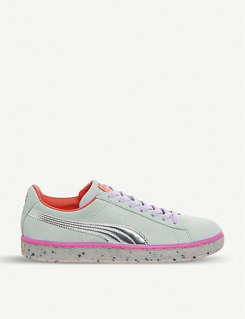 b86d7823e276 PUMA Puma x Sophia Webster Candy Princess suede trainers