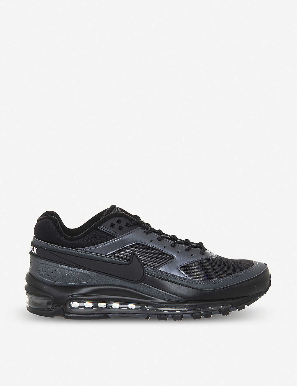 free shipping a8062 d9c23 Air Max 97 BW iridescent leather trainers - Black metallic ...