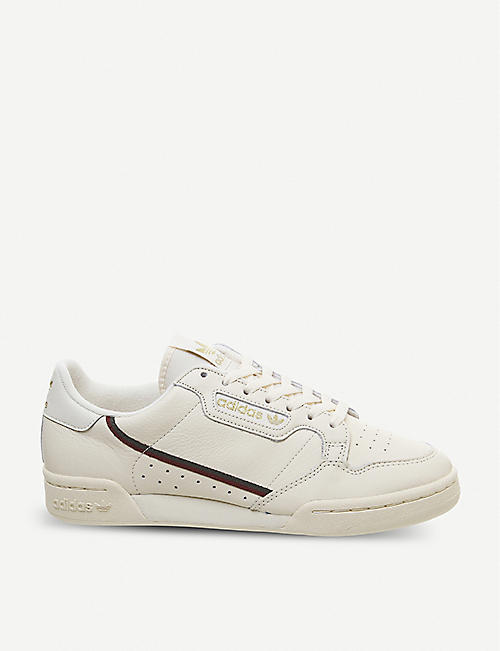 quality design 7411c 52e52 ADIDAS Continental 80 leather trainers