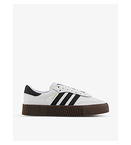 d8452b454f3 ADIDAS Samba Rose leather trainers (White+core+black+gum