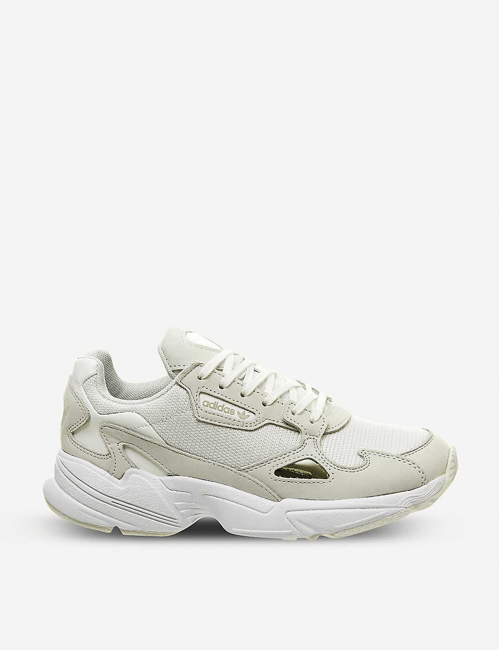 premium selection 4ac68 dbcd6 ADIDAS Falcon suede and mesh trainers