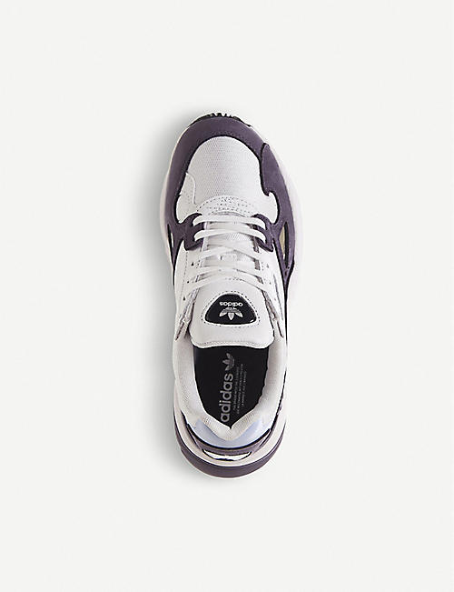 premium selection e8df4 81f53 ADIDAS Falcon suede and mesh trainers
