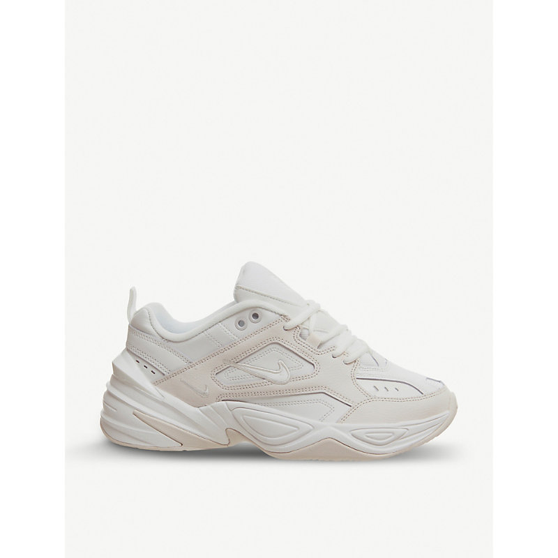 279b20f1c Nike M2K Tekno Leather Trainers In White