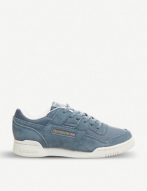 REEBOK Workout lo plus suede trainers 6a59d714f