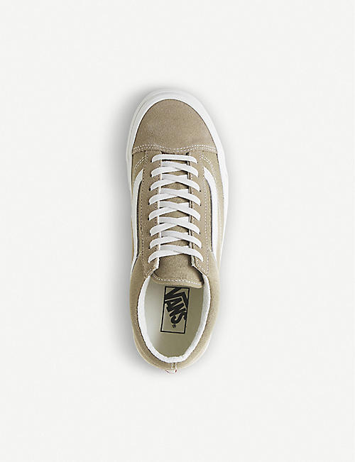 VANS Style 36 suede and canvas trainers