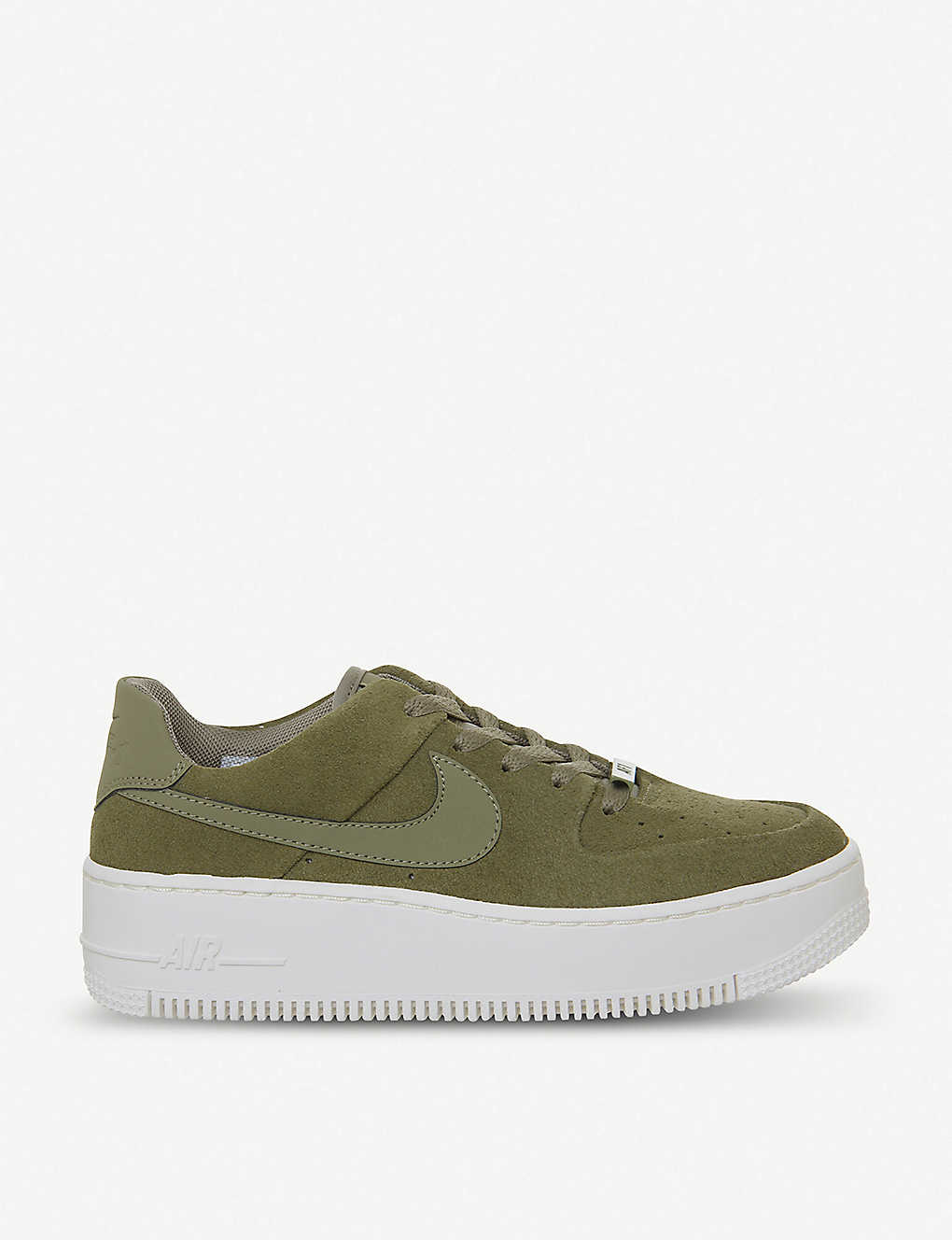 c022f2e23 Air Force 1 Sage suede trainers - Trooper phantom ...