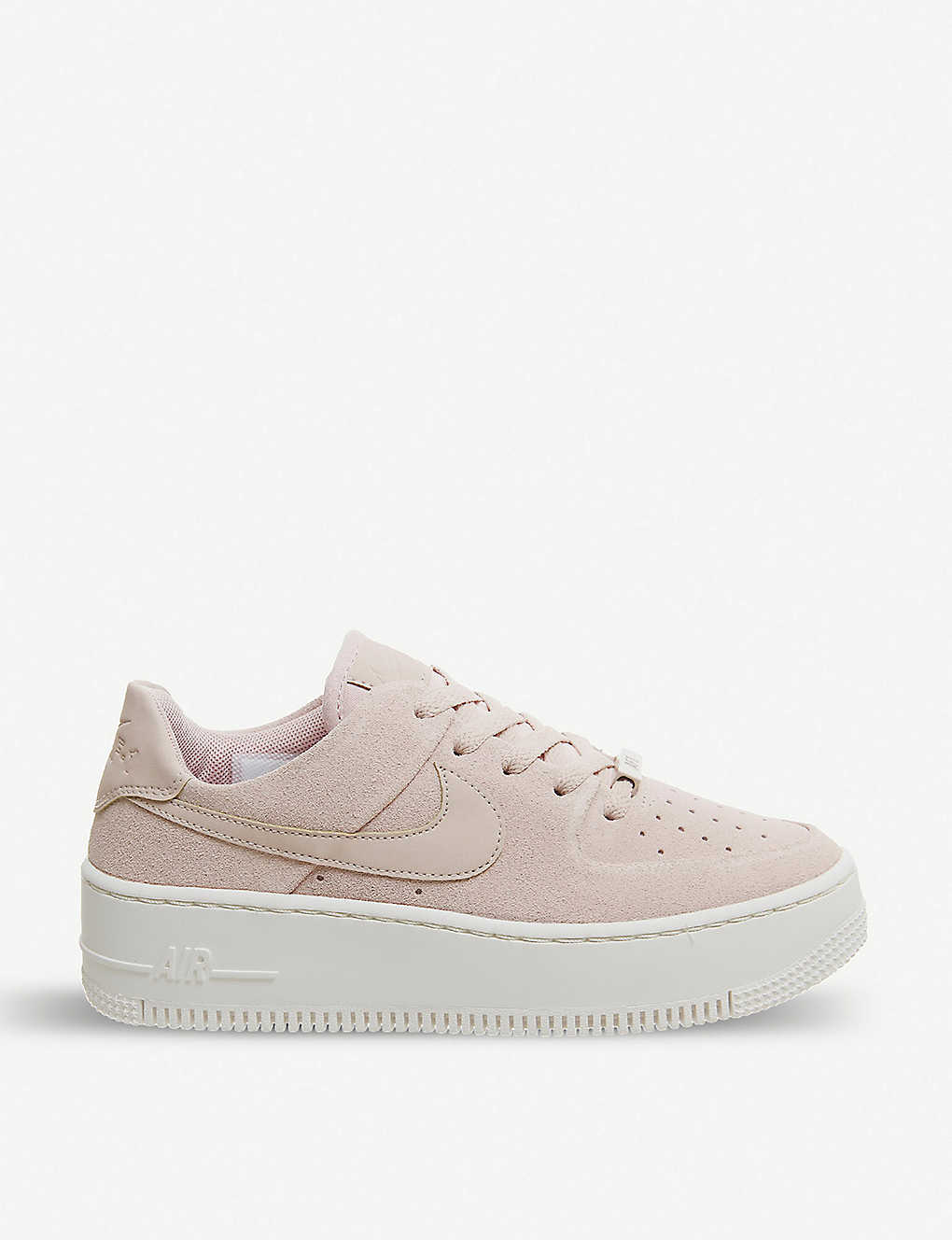 factory price e23cd 86341 Air Force 1 Sage suede trainers - Particle beige ...
