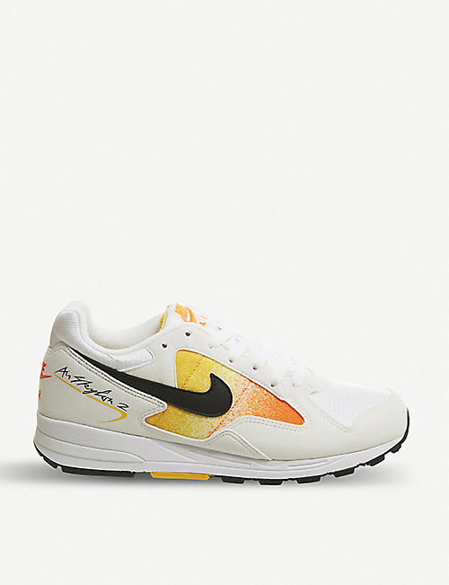 official photos dec36 25d54 NIKE Air Skylon II mesh and suede trainers