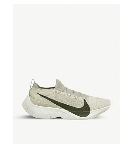 4b79e7a361bc Nike React Vapor Street Flyknit Trainers In String River Cream ...