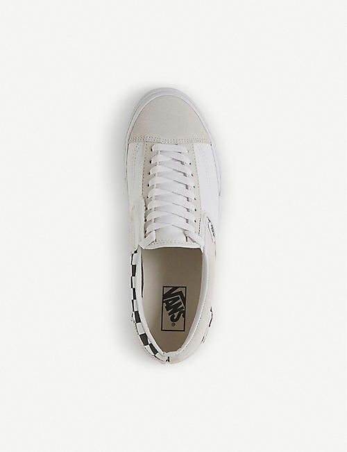 VANS Slip-on CAP Checkboard suede trainers