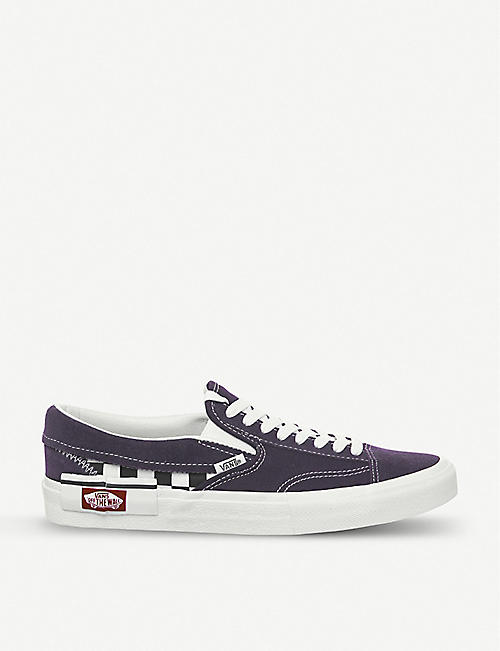 bd8dba8d5e VANS Slip-on CAP Checkboard canvas and suede trainers