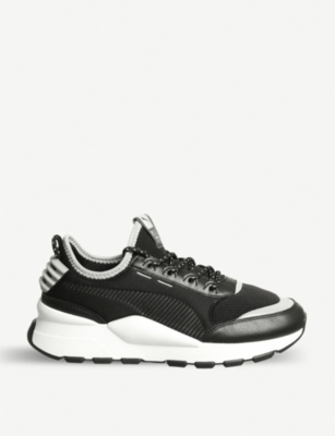 PUMA RS-O Sound leather trainers