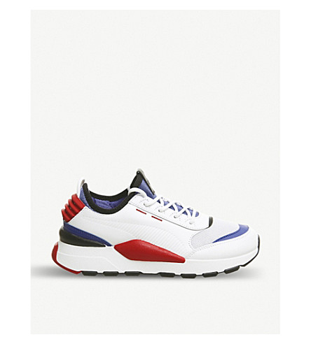 PUMA RS-O Sound leather sneakers (Puma+white+blue+red d515f2879