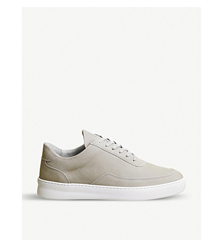 abd549bc2c5 FILLING PIECES Nardo leather trainers (Light+grey