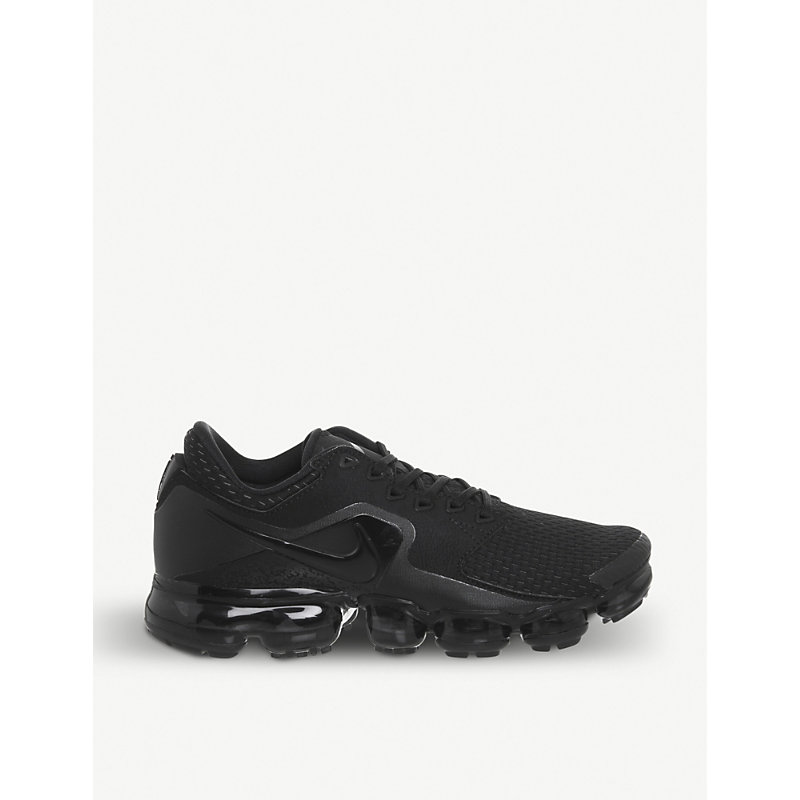 a71036a9584 Nike Air Vapormax Flyknit Utility Trainers In Black Anthracite