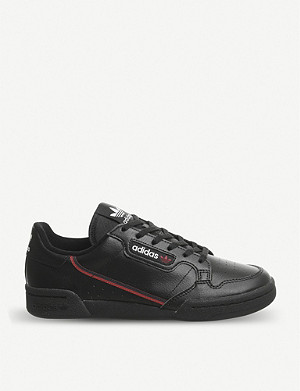 25ddb92d92df ADIDAS Continental 80 Junior leather trainers