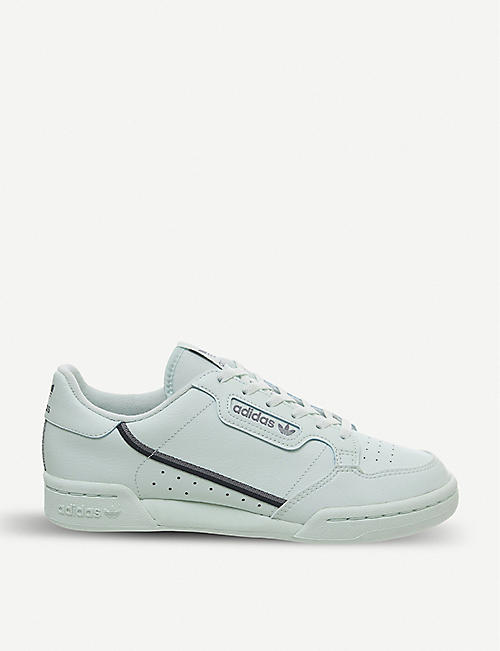 1d424600b70 ADIDAS Continental 80 Junior leather trainers