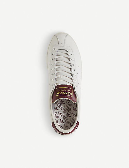 watch 8ae36 de522 ADIDAS Lacombe Spezial leather trainers