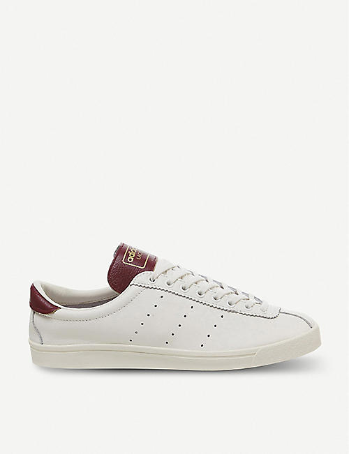 59f364187b32 ADIDAS Lacombe Spezial leather trainers