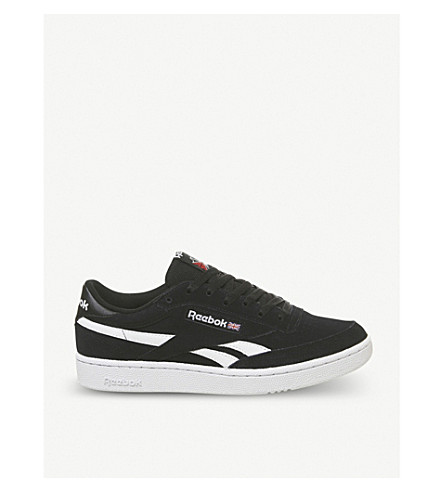 REEBOK - Revenge Plus suede and leather trainers  21914b9780a