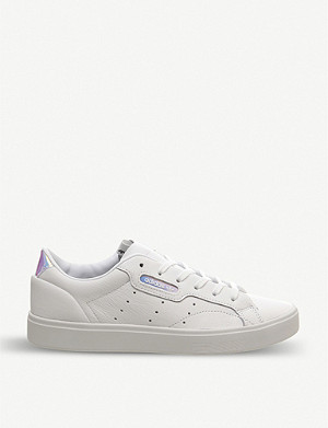 ADIDAS Sleek leather trainers
