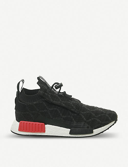 13aa1a255 ADIDAS NMD TS1 stretch-knit trainers