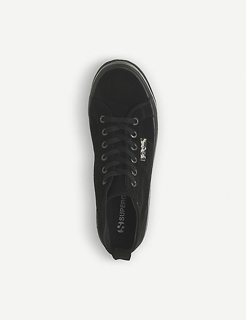 SUPERGA 2554 canvas mid-top trainers