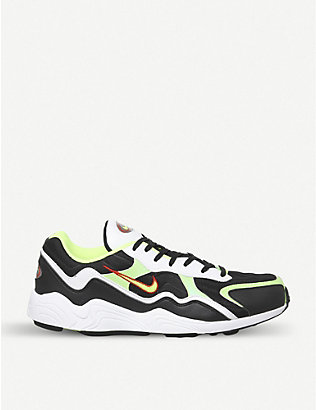 NIKE: Zoom Alpha leather trainers
