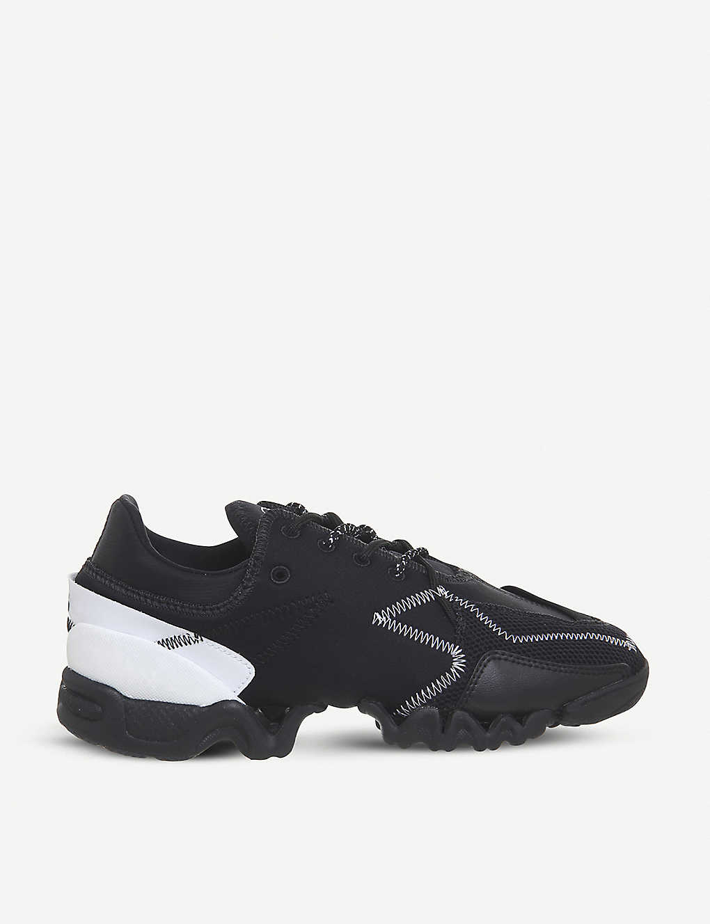067cf145c25a6 ADIDAS Y3 - Ekika leather and neoprene trainers