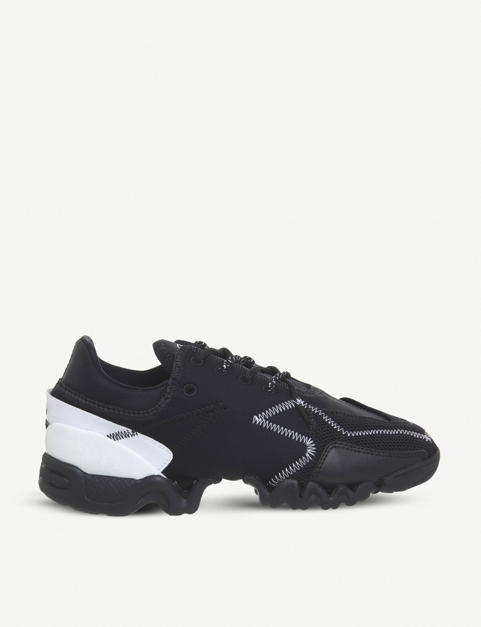 10d35abaf233a ADIDAS Y3 - Ekika leather and neoprene trainers