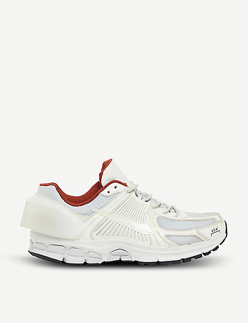 NIKE Nike x A-COLD-WALL Zoom Vomero +5 leather and mesh trainers