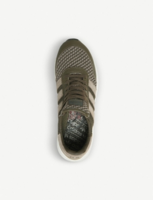 a14415bcbf0c Adidas Originals X Neighborhood I-5923 Mesh And Suede Trainers In Nbhd  Trace Olive