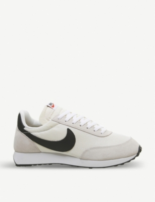 NIKE Air Tailwind '79 suede and mesh trainers
