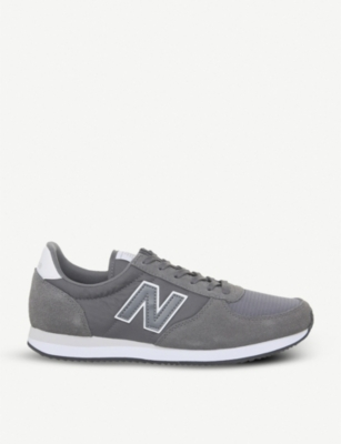 NEW BALANCE U220 suede retro trainers