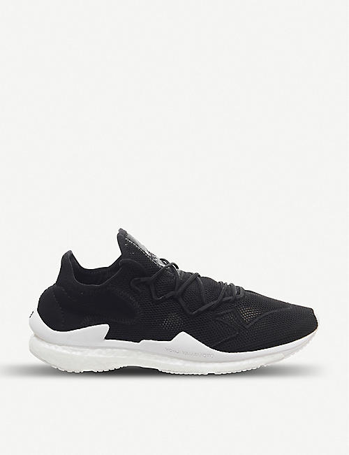 ADIDAS Y3 Adizero Runner mesh and neoprene trainers