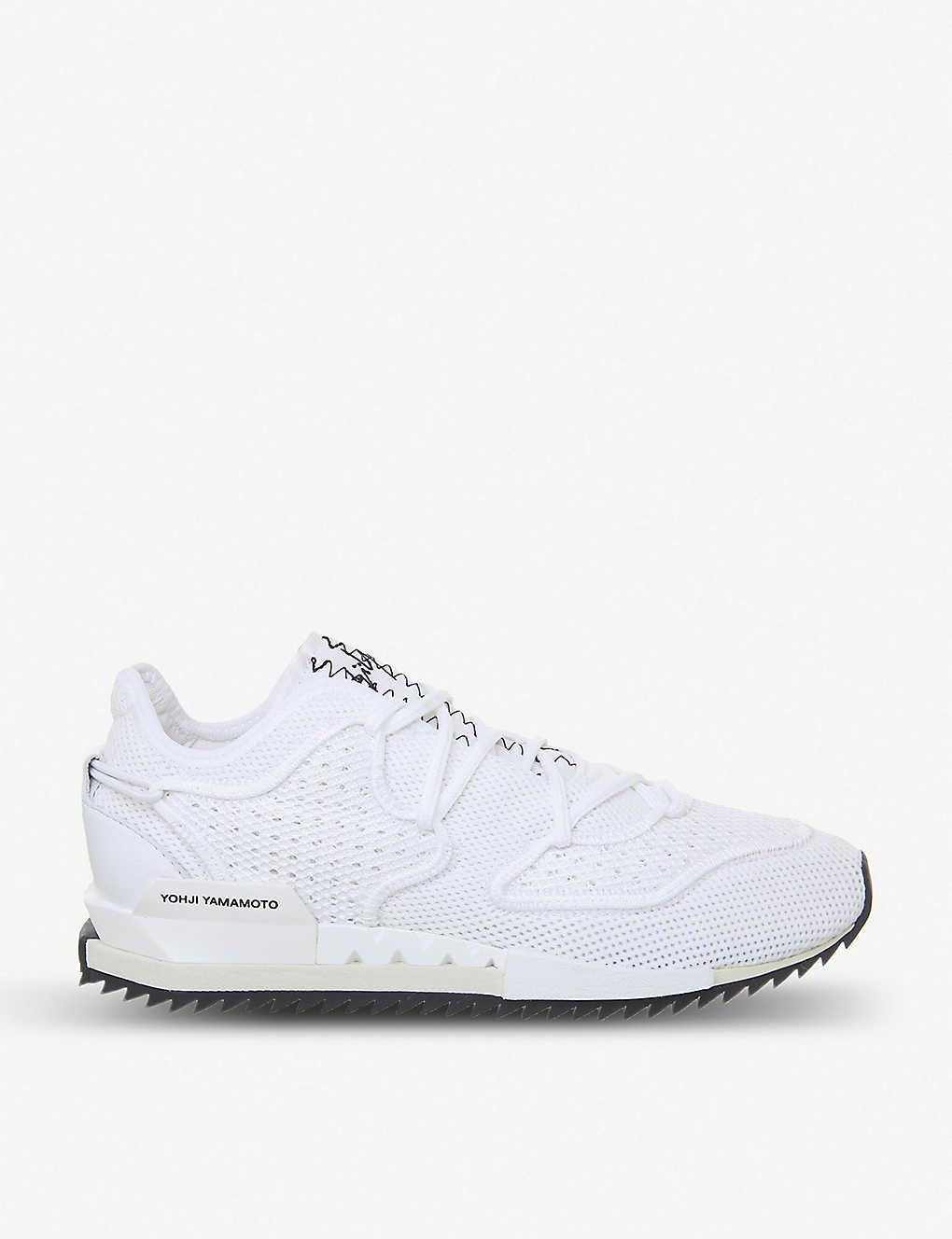 d423a7304a107 Harigane II Primeknit trainers - White mono ...