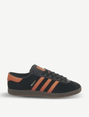 ADIDAS Brussels suede low-top trainers
