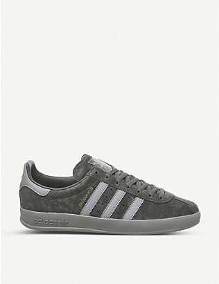 ADIDAS: Broomfield suede trainers