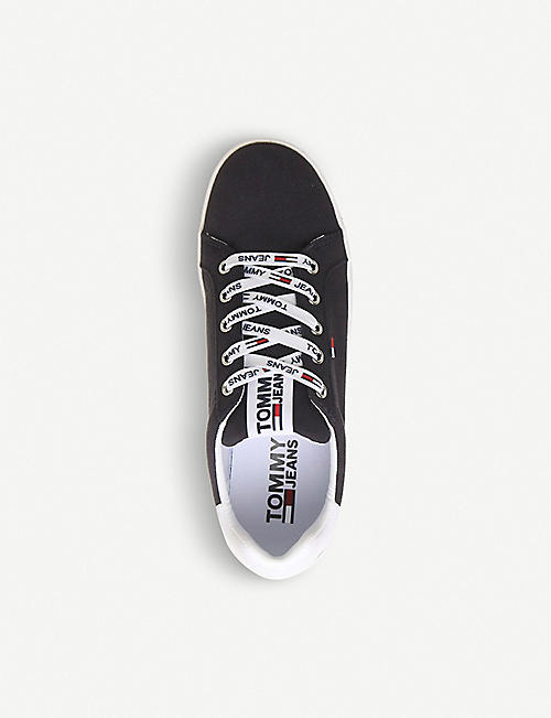 OFFICE Tommy Hilfiger Roxie canvas trainers