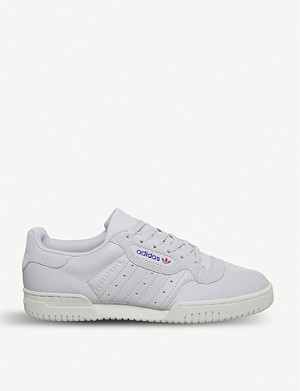 ADIDAS Powerphase leather trainers