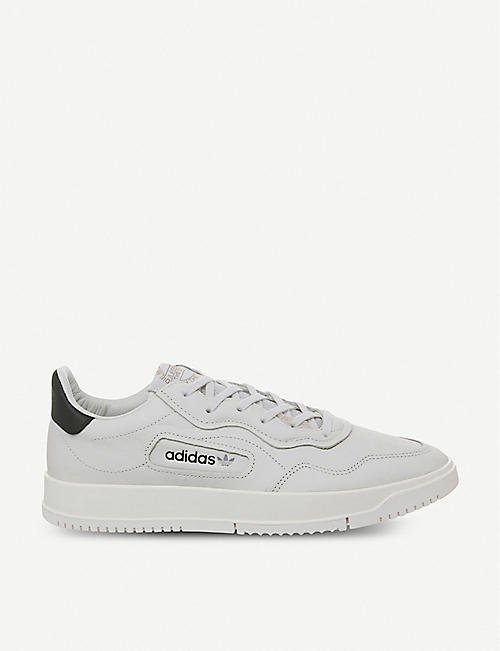 outlet store 31e91 541c2 ADIDAS SC Premiere leather trainers