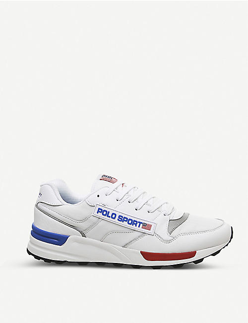 POLO RALPH LAUREN Trackstar 100 leather trainers