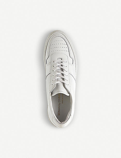 COMMON PROJECTS Bball panelled leather trainers