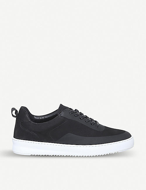 FILLING PIECES Mondo 2.0 Ripple nubuck trainers