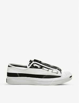 CONVERSE Converse x TheSoloist Jack Purcell canvas trainers