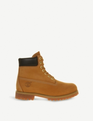 "TIMBERLAND Buck 6"" nubuck leather boots"