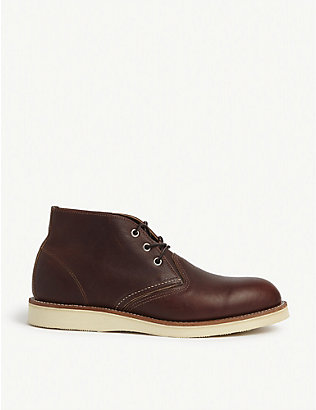 REDWING: 3141 leather Chukka boots