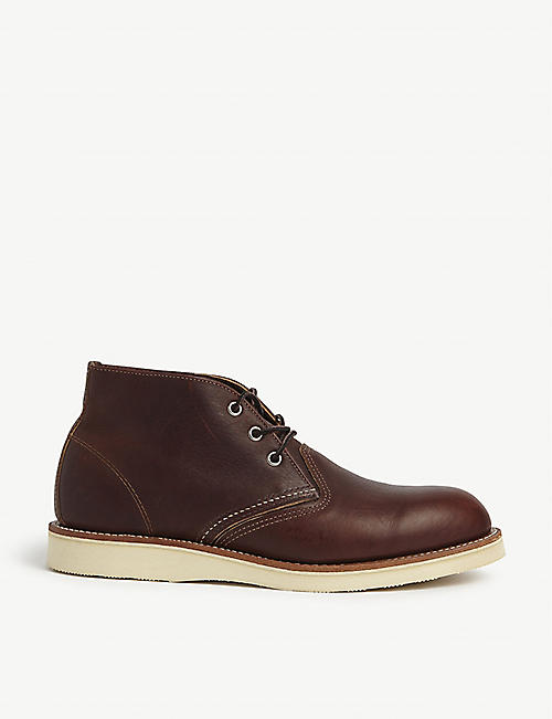 REDWING 3141 leather Chukka boots