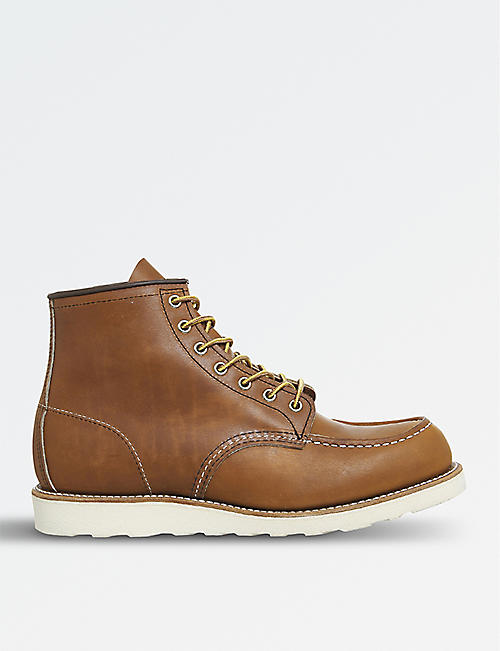 "REDWING Work 6"" leather boots"